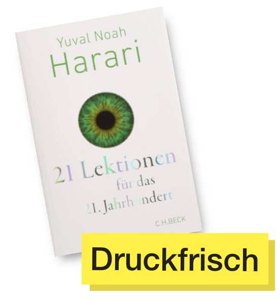 Buchtitel 21 Lektionen © C.H. Beck Verlag