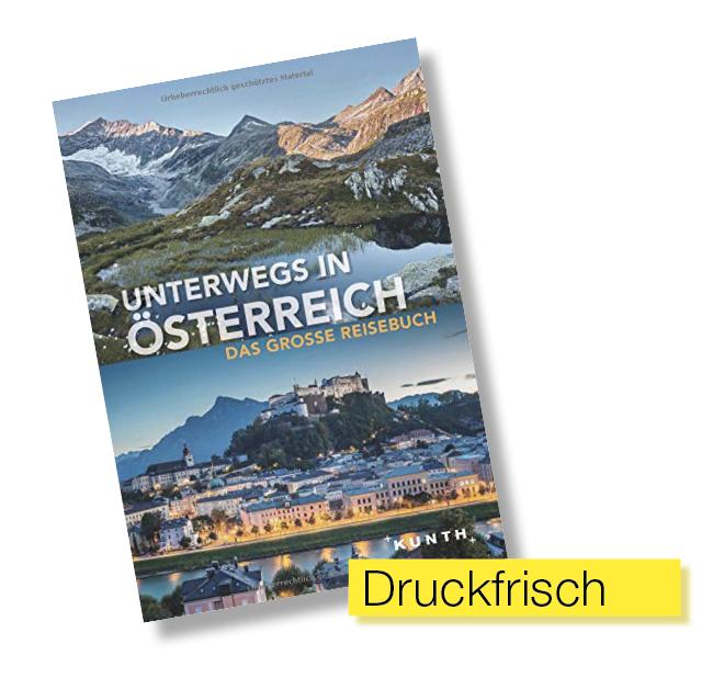 Buchtitel Unterwegs in Österreich © Kunth Verlag