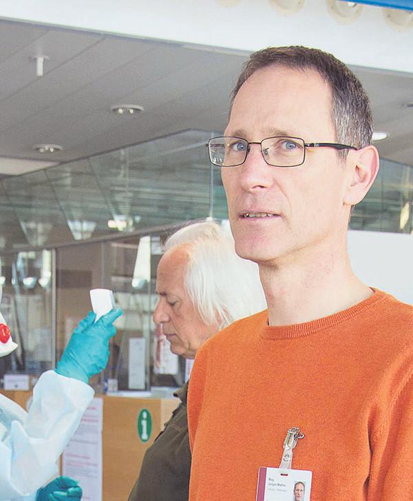 Jürgen Mathis, Seelsorger © AK/Thomas Matt