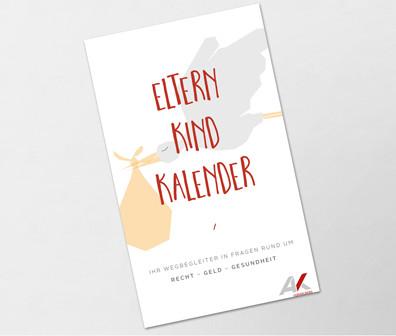 Eltern Kind Kalender © AK Vbg, AK Vorarlberg