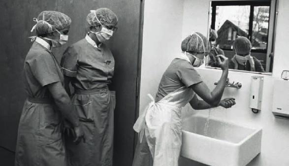 Beschäftigte im Krankenhaus © Archivscan