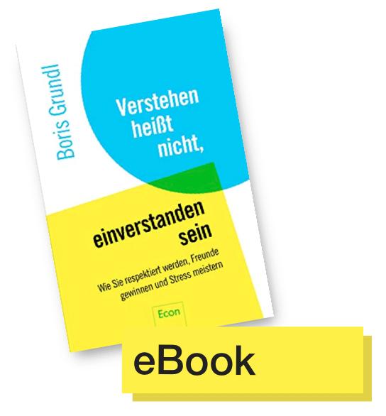 Buchtitel Verstehen heißt nicht ... © Econ Verlag