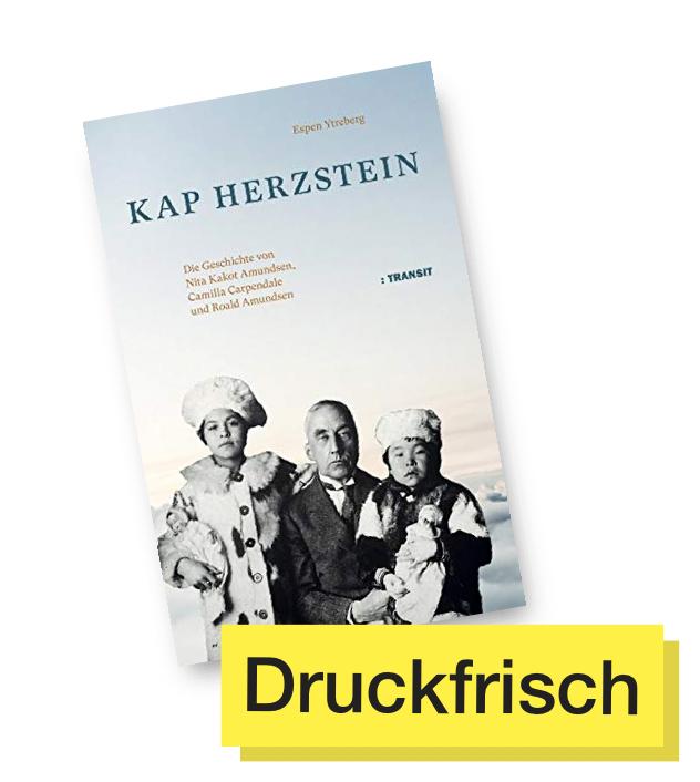 Buchcover Kap Herzstein © Transit