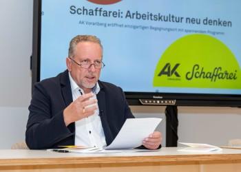 AK-Präsident Hubert Hämmerle © AK Vorarlberg, Jürgen Gorbach