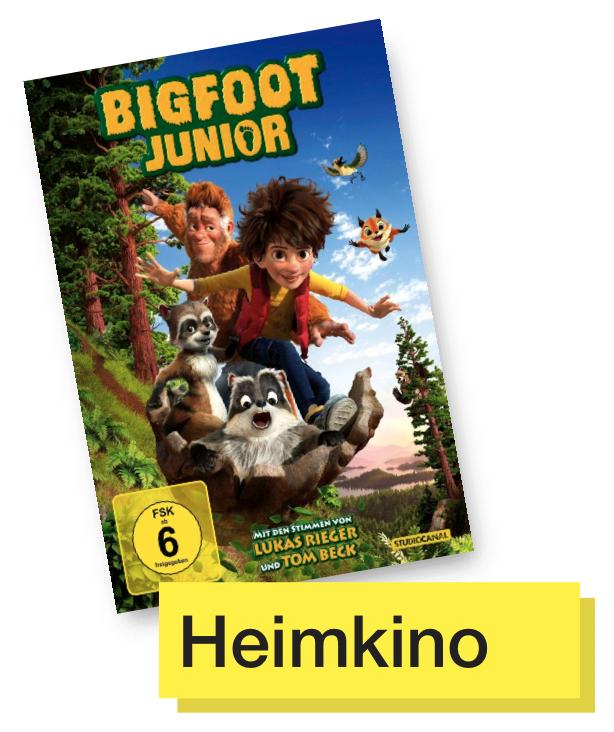 DVD Cover Bigfoot jr. © Studiocanal