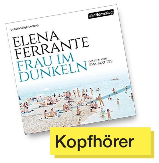 Cover Frau im Dunkeln © Der Hörverlag
