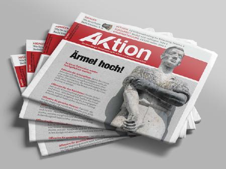 Zeitungsstapel der Ausgabe Mai 2020 © AK Vbg