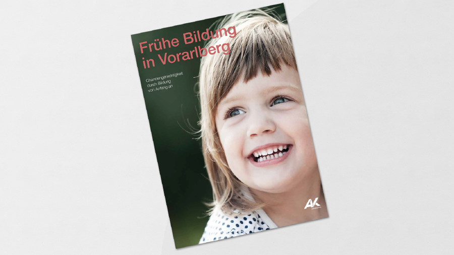 Studien-Cover: Frühe Bildung in Vorarlberg © Foto: AdobeStock, JackF