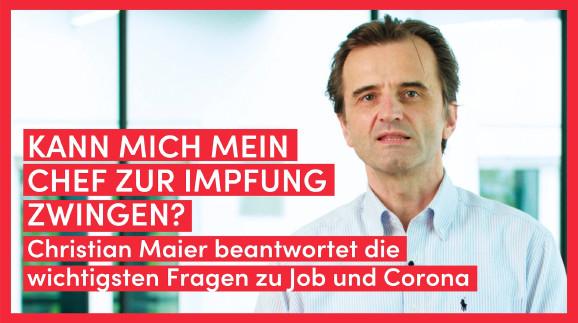 Video: Kann mich mein Chef zum Impfen zwingen? © AK Vorarlberg
