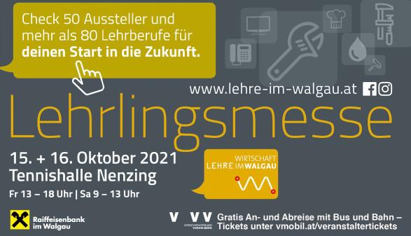 Lehrlingsmesse im Walgau 2021 © Wirtschaft im Walgau
