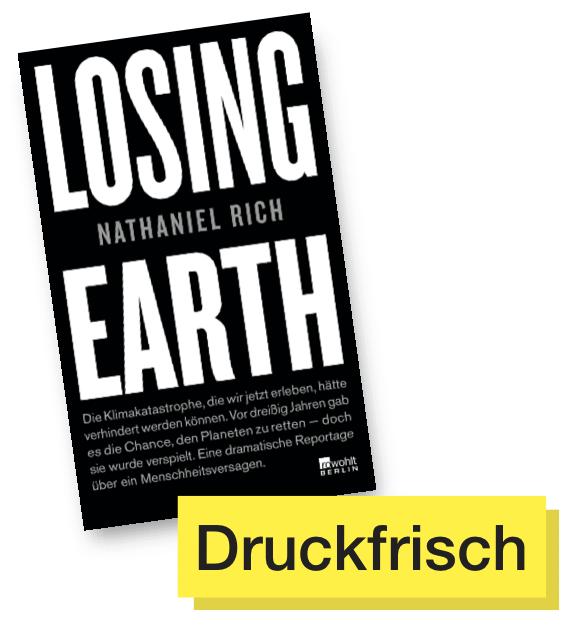 Losing Earth © Rowohlt