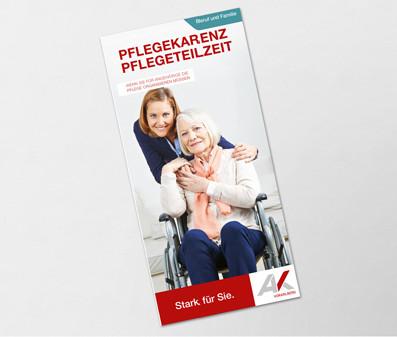 Titelbild junge Frau und ältere im Rollstuhl © Robert Kneschke, stock.adobe.com