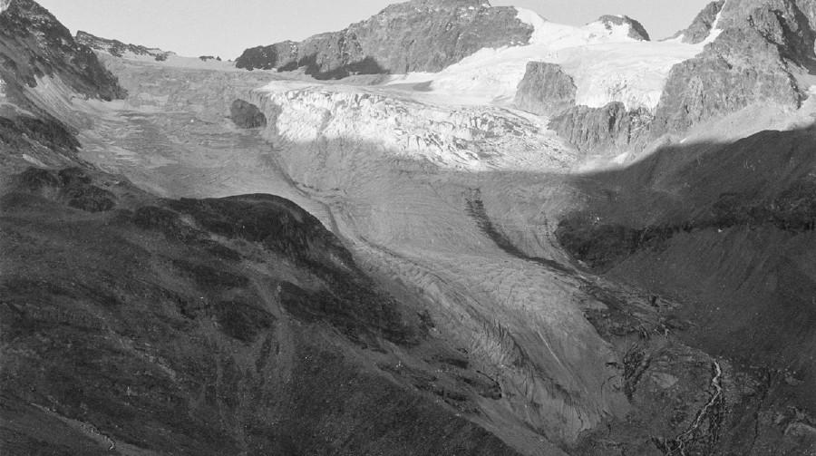 Ochsentaler Gletscher, 1973 © ÖAV Gletschermessdienst