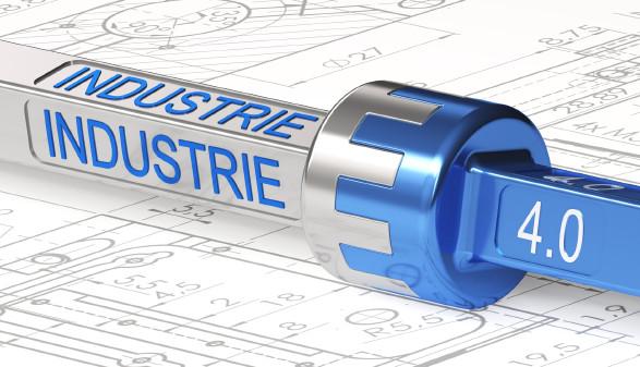 Kupplung mit Schriftzug Industrie 4.0 © bht2000, stock.adobe.com