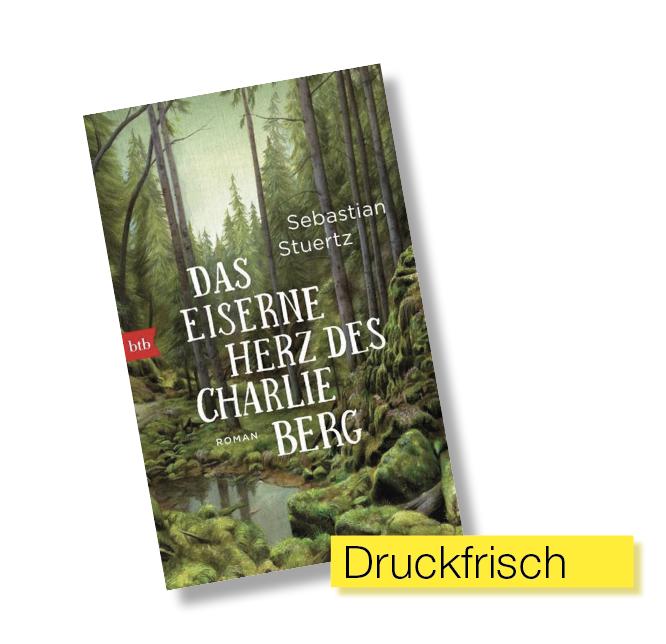 Buchcover Das eiserne Herz des Charlie Berg © btb Verlag