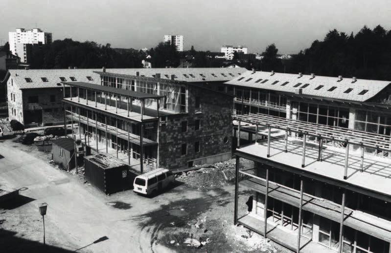 Verdichtetes Bauen und sparsamer Umgang mit Grund und Boden stehen in keinem Gegensatz zu hoher Wohnqualität. © Archivscan