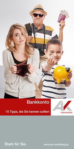 15 Tipps zum Bankkonto © www.shutterstock.com, AK Vorarlberg