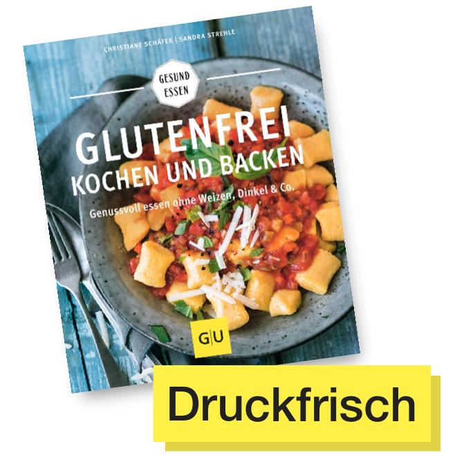 Buchcover Glutenfrei kochen und backen © GU Verlag