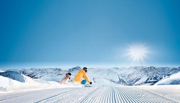 Skifahrer am Diedamskopf © Diedamskopf Au-Schoppernau