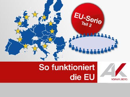 So funktioniert die EU © AK, AK