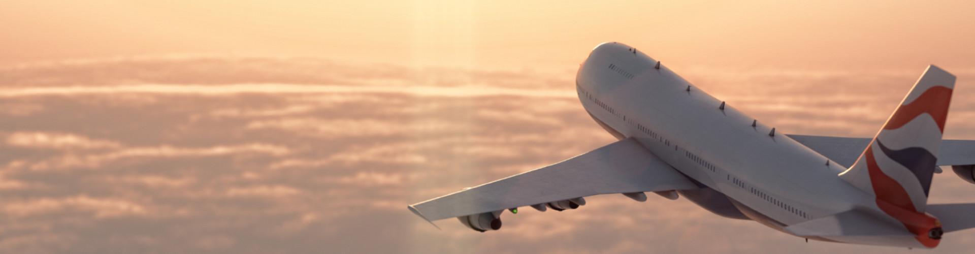 Flugzeug über den Wolken © Adobe, Adobe