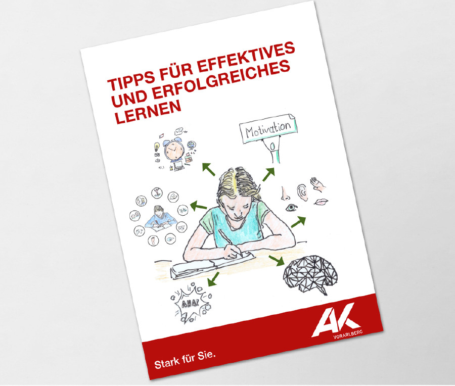 Broschürentitel Effektiv Lernen © Franz Ludescher,