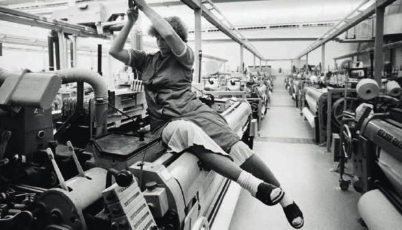 Fabriksarbeiterin © Archivscan