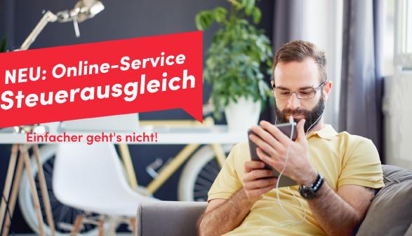 Online-Service Steuerausgleich © AK Vorarlberg, AK Vorarlberg
