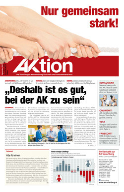AKtion September 2017 © AK Vbg., AK Vorarlberg