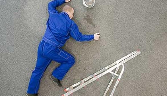 Portrait Arbeitsunfall als Arbeitnehmer/-in © Fotolia.com, Artur Golbert