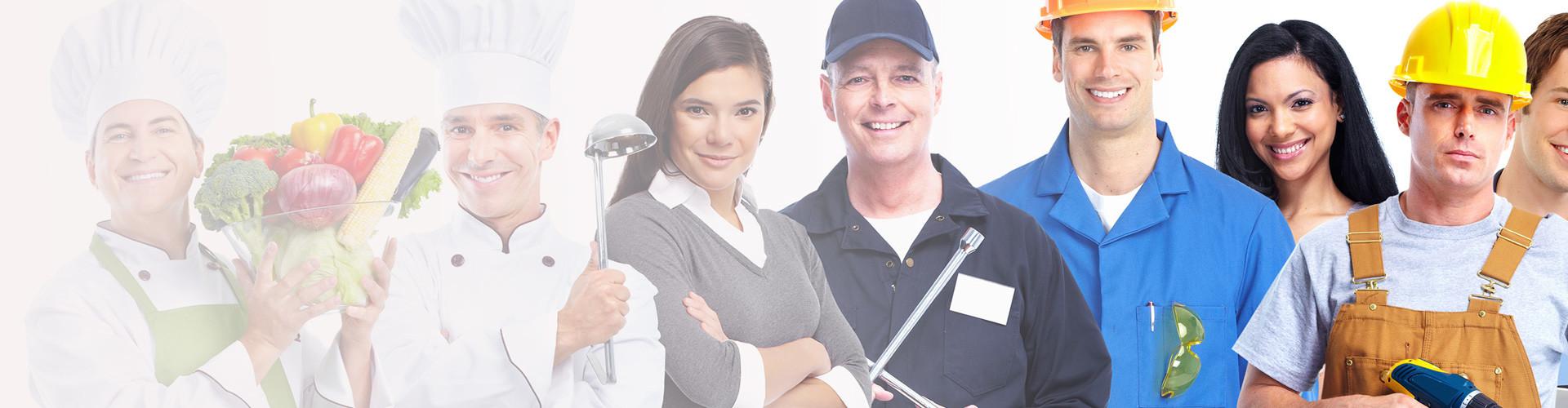 verschiedene Personen in verschiedenen Berufen © kurhan, stock.adobe.com