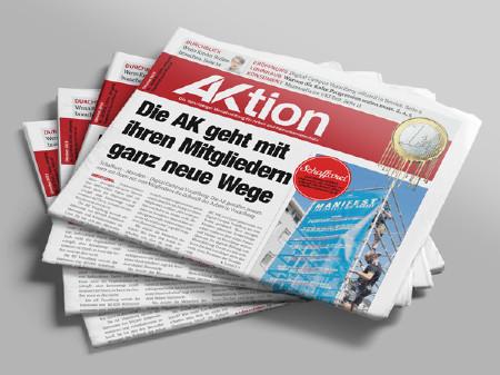 AKtion Zeitungsstapel Oktober 2019 © AK Vbg