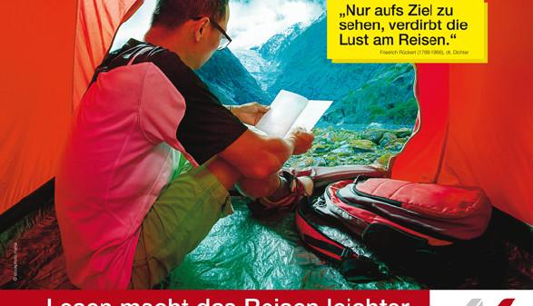 Lesen macht das Reisen leichter © stockphoto mania, fotolia.de