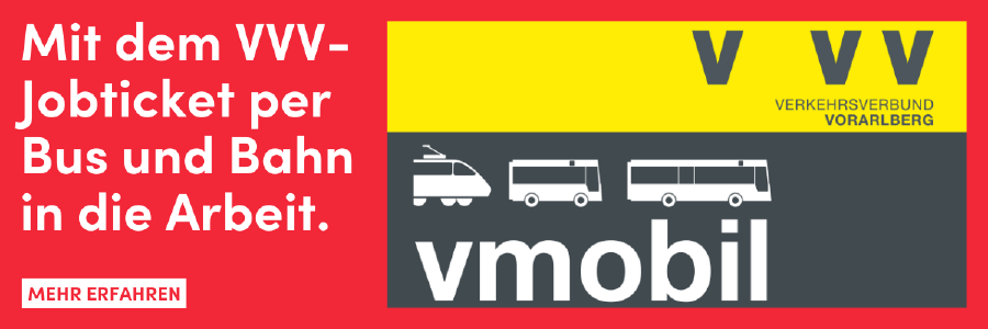 VVV-Jobticket © AK Vorarlberg