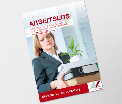 Broschürencover der Broschüre Arbeitslos © ©H_Ko - stock.adobe.com