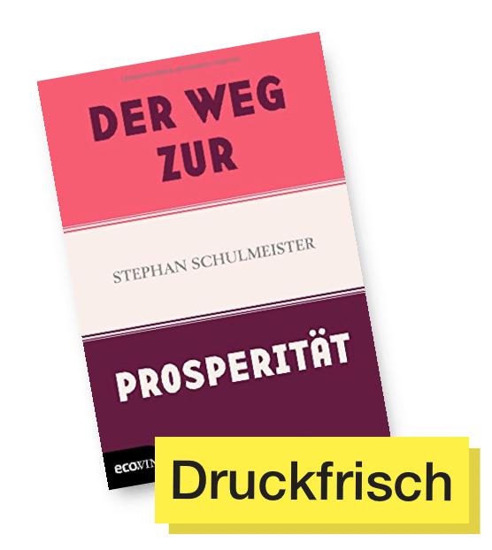 Buchcover Der Weg zur Prosperität © Ecowin