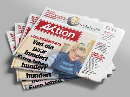Zeitungsstapel der Ausgabe März 2021 © AK Vbg.