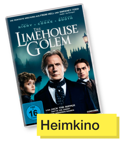 DVD Cover The Limehouse Golem © Concorde Home Entertainment