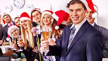 Weihnachtsfeier © Gennadiy Poznyakov, Fotolia