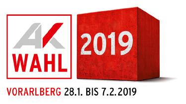 Logo zur AK-Wahl 2019 © AK