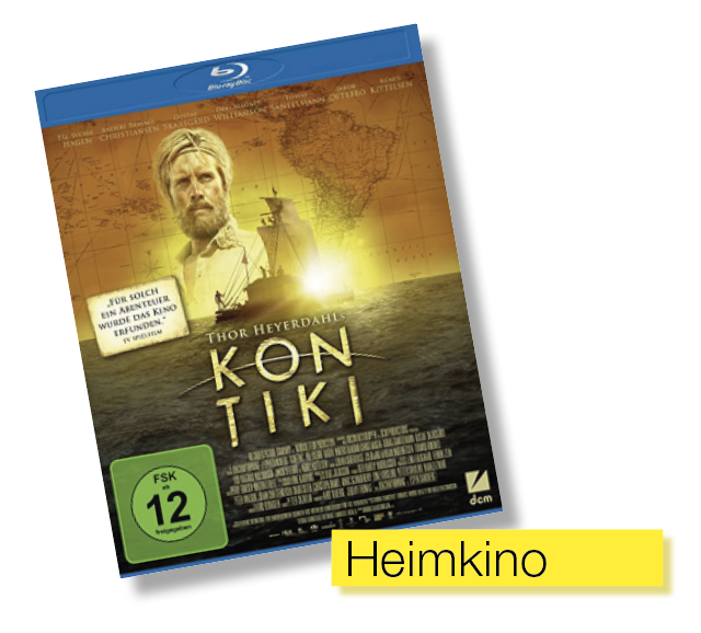 DVD Cover Kon Tiki © DCM Film