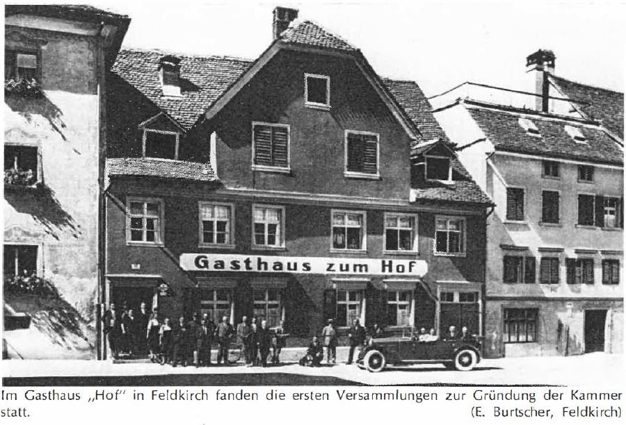 Gasthaus zum Hof Archivbild © E.Burtscher, Feldkirch