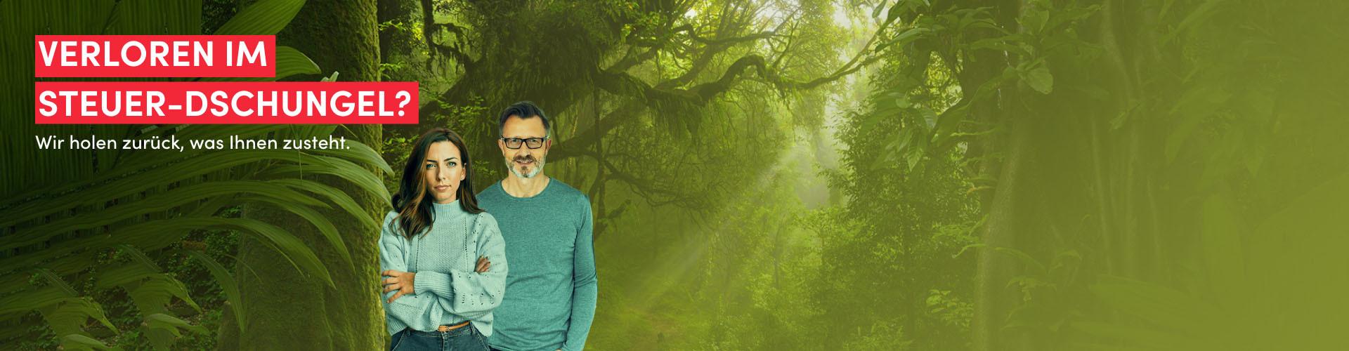 Verloren im Steuer-Dschungel? © AdobeStock