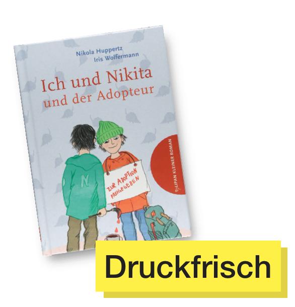 Buchtitel Ich und Nikita © Tulipan Verlag