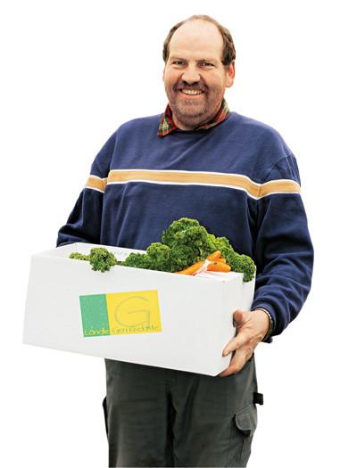 Gewinnen Sie ein Abo der Gemüsekiste © Georg Alfare, Fotograf