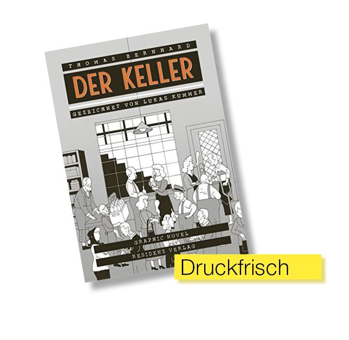 Buchtitel Der Keller © Residenz Verlag
