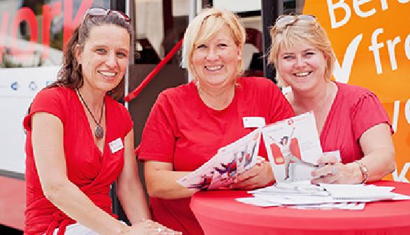 Case Managerinnen von fit2work Vorarlberg © fit2work, fit2work