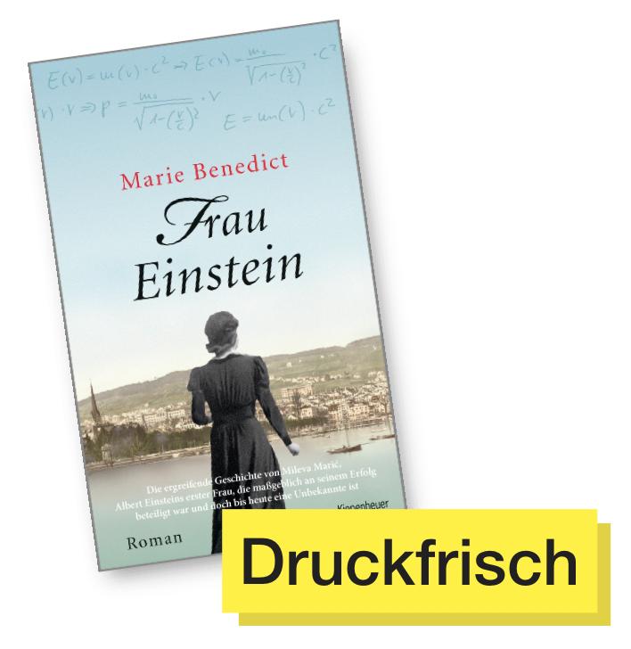 Frau Einstein © Kiepenheuer & Witsch