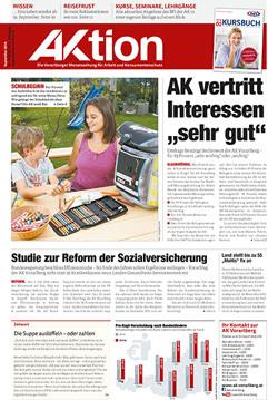 AKtion September 2016 © AK, AK Vorarlberg