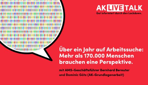 AK Live-Talk: Langzeitarbeitslosigkeit © Canva